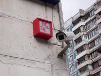 Уличная видеокамера с подогревом на стационарном кронштейне