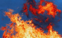 На горящем в Ленобласти военном складе рвутся ракеты