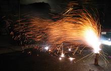 Новогодние праздники не прошли без пожаров